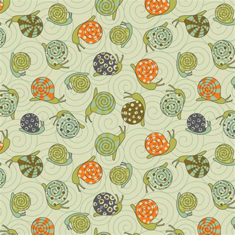 decorative snail fabric cjldesigns spoonflower