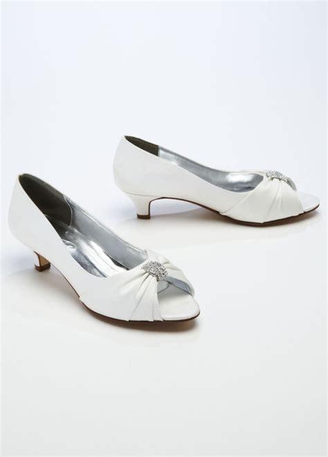 S Bridal Sandals by David S Bridal Wedding Bridesmaid Shoes Satin Peep Toe