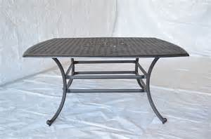 Patio Dining Table Only Nassau Outdoor Patio Dining Table Only Bronze Color Cast Aluminum Ebay