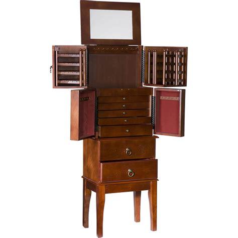 sei jewelry armoire sei traditional jewelry armoire jewelry armoires