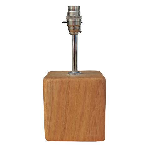small base light bulbs oak and iron small square l base by oak iron