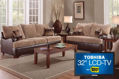 conquest couch conquest sofa loveseat 32 quot tv