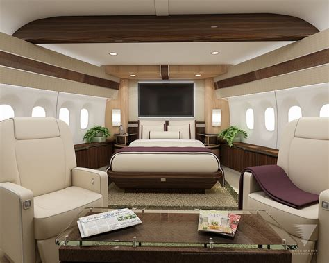 private jet bedroom interior options for private jets privatefly blog