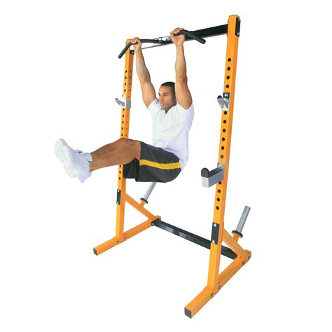powertec bench review powertec workbench half rack yellow