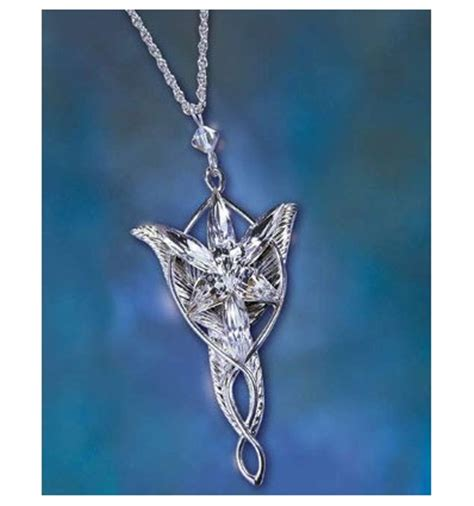 the lord of the rings replica arwen evenstar pendant
