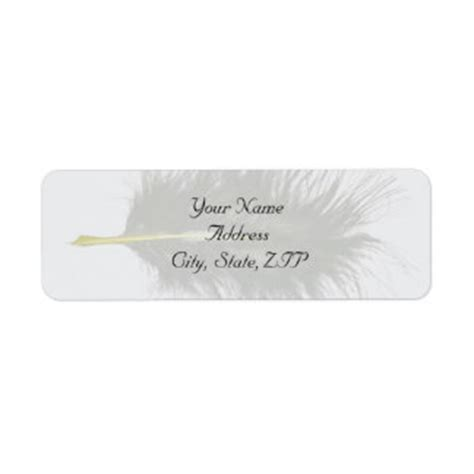 quill label templates quill return address labels templates zazzle