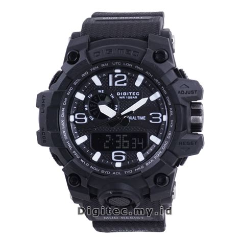 Digitec Original Pria Digitec 2093 Black Green digitec dg 2093t black jam tangan sport anti air murah