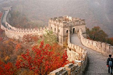 Great Wall Of China Mutianyu Section by Things To Do In Beijing Travelmagma