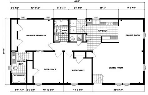 how big is 48 square feet 48 square feet 24 x 48 floor plans 24 x 48 approx 1152 sq