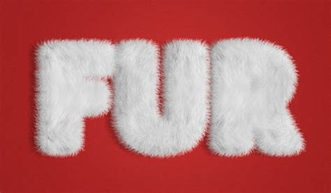 furry generator cartoon typography and texts how to create a fur action text effect in adobe photoshop