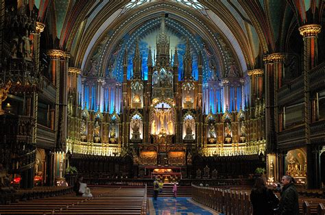 Notre Dame Cathedral Interior by The Most Popular Travel Destinations In The World