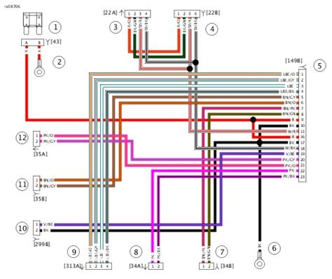 harley davidson boom audio wiring diagram 41 wiring
