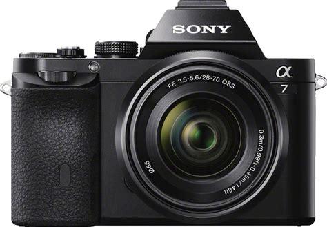 Kamera Sony Alpha 7 sony alpha ilce 7k system kamera sel 2870 zoom 24 3