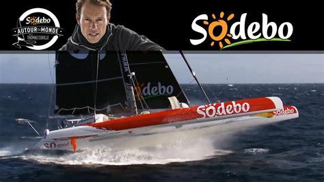 trimaran sodebo maxi trimaran sodebo teaser tour du monde 2013 sodebo