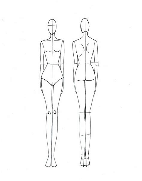 fashion drawing template body template search and design