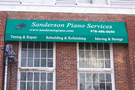 sanderson awnings storefront canopy custom awning in massachusetts