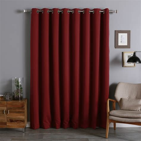 extra wide curtains extra wide blackout curtains homesfeed