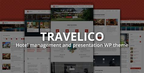 hotel theme themeforest travelico hotel booking presentation wp theme by