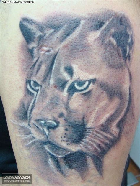 tattoo 3d puma tatuajes y dise 241 os de pumas