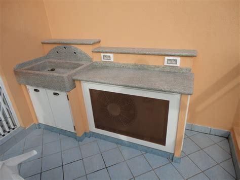 lavandini da terrazzo mobili lavelli finta muratura per terrazzo