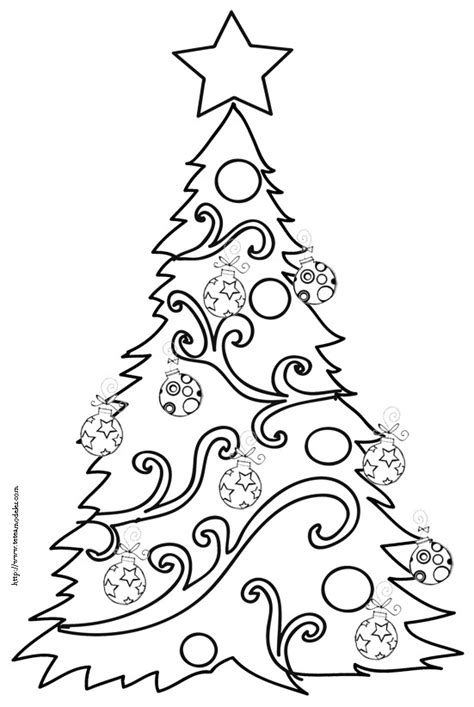 sapin de no 195 171 l 195 colorier
