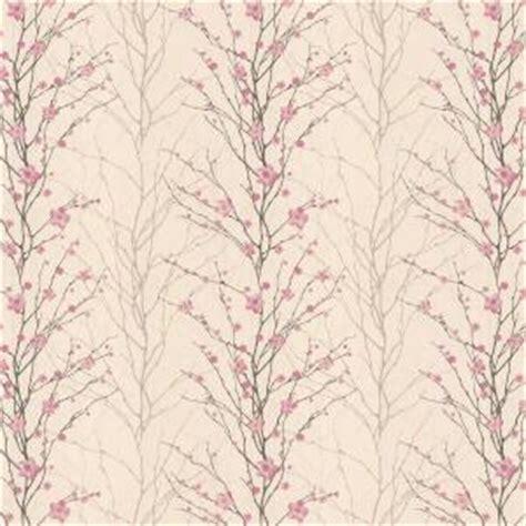 pink wallpaper home depot graham brown 56 sq ft vitality floral pink wallpaper