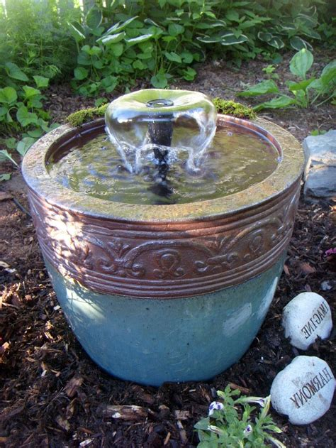 small outdoor fountain ideas modern patio outdoor