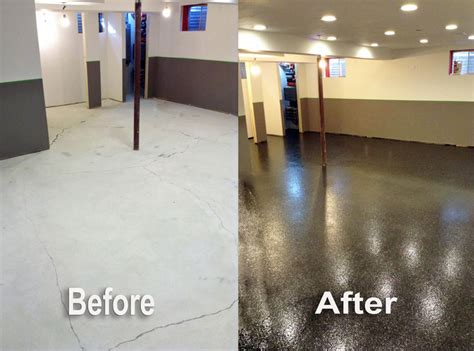 red epoxy basement floor paint ideas basement fabian s flooring inc epoxy flooring