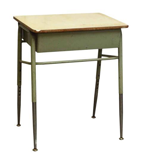 high school desk mid century high school desk chairish