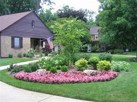 Front House Garden Ideas Specimin Trees For Landscaping Ideas Front House Landscape Design Pictures Design And