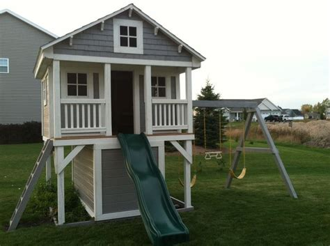 playhouse with swing set 25 best ideas about swing sets on pinterest kids swing