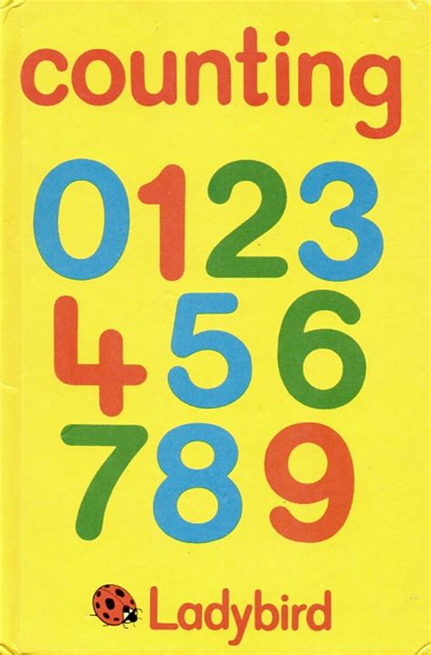 count the cowan series books counting ladybird book early learning series gloss