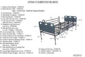 drive competitor semi electric bed 15560 15560