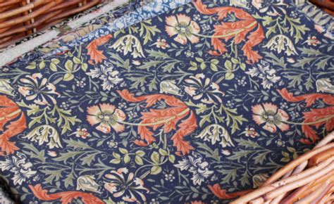 William Morris Patchwork Fabric - eighth william morris compton fabric by abeautifulhome