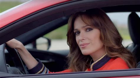 lexus commercial actress first sight spanish actress in lexus lc 500 races fighter jet