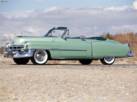 1951 Cadillac Convertible by Cadillac Sixty Two Convertible Coupe 1951 Wallpapers