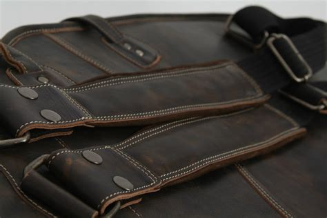 Tass Bass Gigbag Coclat I bass gig bag by harvest leather at access