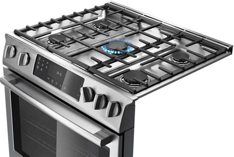 Gas Cooktop Cleaner Bosch Hdi8054u 30 Inch Slide In Dual Fuel Range With True