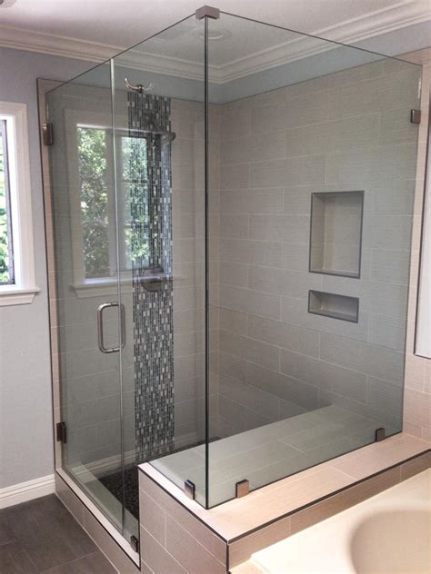 Custom Shower Glass Door Fantastic Custom Shower Gallery Bathtub For Bathroom Ideas Lulacon
