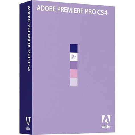 adobe premiere pro and elements adobe premiere pro cs4 video editing software 65020705 b h