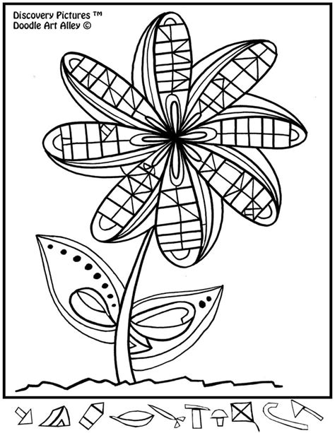doodle alley flowers discovery pictures doodle alley