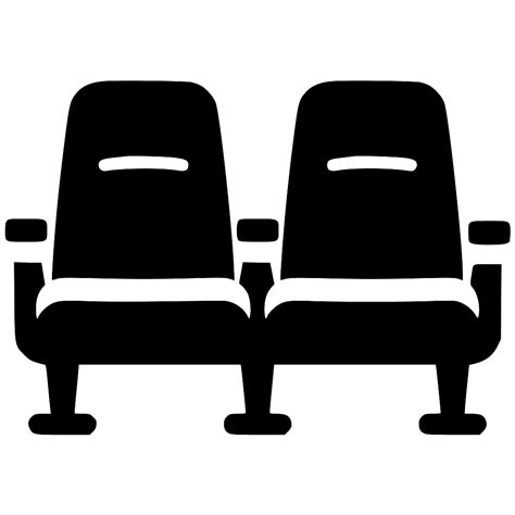 chair cinema theater seat svg png icon free