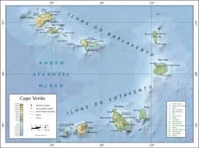 c verde map file topographic map of cape verde en svg simple