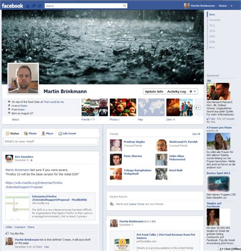 facebook photo layout trick how to avoid facebook timeline profiles ghacks tech news