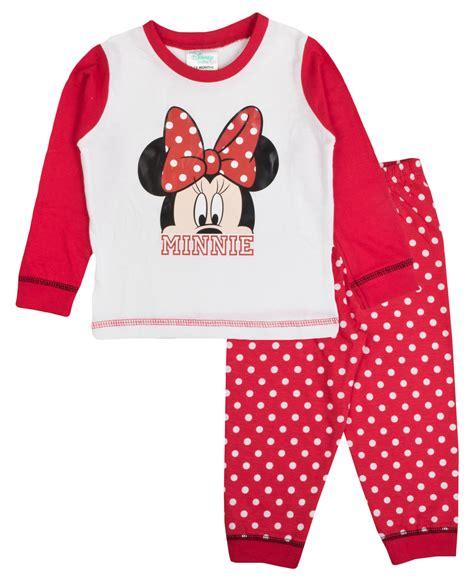 Pyj 25 Baby Pyjamas Mickey Minnie baby pyjamas toddlers disney minnie mouse pjs