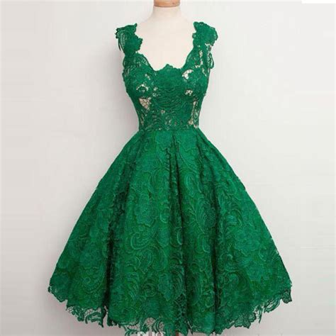 Imported Laceta Dress emerald green prom dresses 2015 new fashion v neck lace gown imported dress
