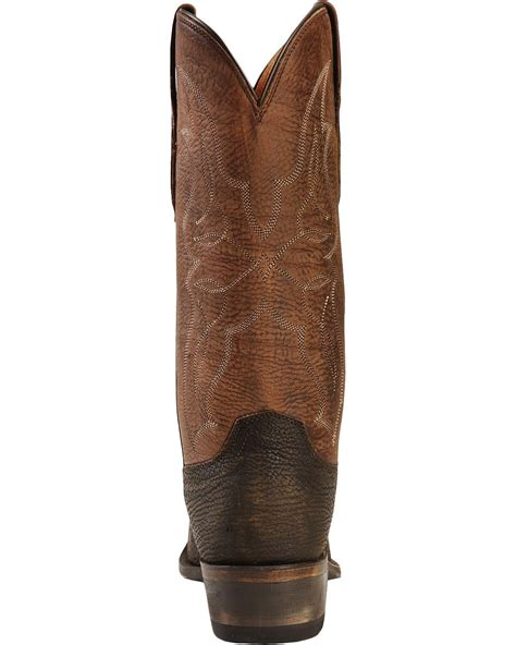 shark cowboy boots lucchese handcrafted 1883 sanded shark cowboy boots snip