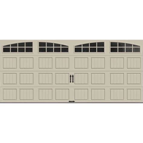 Clopay Gallery Collection 16 Ft X 7 Ft 6 5 R Value R R Garage Doors