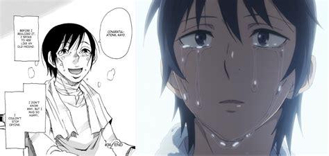erased anime vs manga episode 11 anime vs manga what they skipped and what