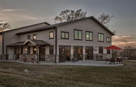 custom designed barndominium   sized shop barn